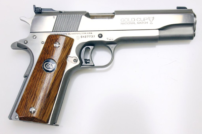 Selbstladepistole Colt, Modell: 1911 - Series 80 - MK IV - Gold Cup National Match