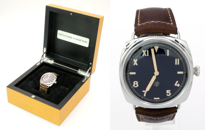 Panerai Radiomir Retro-Taucheruhr California PAM424 Ltd. Edition